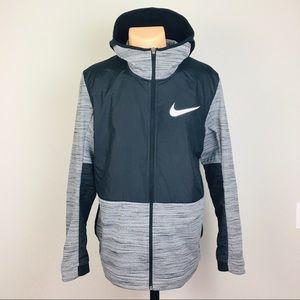 Nike Zip Up Hoodie Jacket with Pockets Men's L